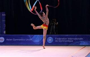 фото Чемпионат Азии по художественной гимнастике