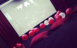Фото Кинотеатр с кроватями Киноклуб Lux