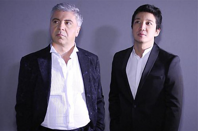 Слайдер Айкын Толепберген и Сосо Павлиашвили