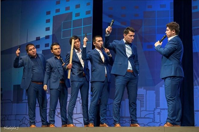 Слайдер Чемпионат Казахстана по КВН: Көңілді тапқырлар «Астана лигасы»