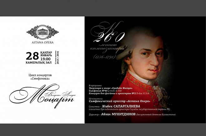 Слайдер Концерт к 260-летию В. А. Моцарта из цикла «Симфоника»