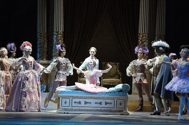 Слайдер Показ балета «Спящая красавица»