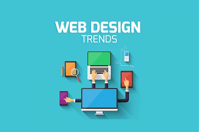 Слайдер Тренды веб дизайна. Создание дизайна сайта с помощью брендбука.