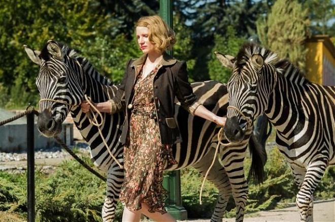 Слайдер Жена смотрителя зоопарка