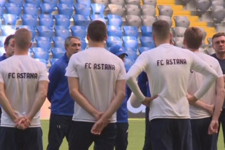 фото «Астана» готовится к ответному матчу против «Селтика»