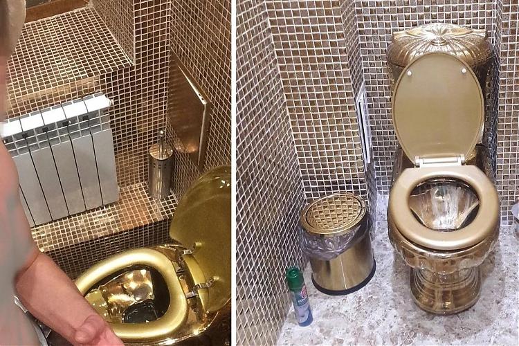 фото Астанчанина шокировал золотой унитаз в гостях у друга за 80 тыс. долларов