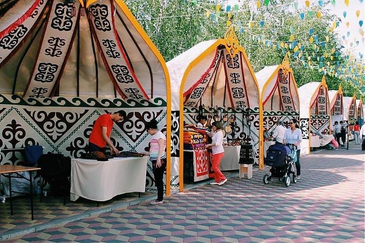 фото Казахстанский hand made пользуется особым спросом у туристов