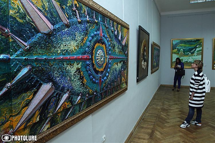 фото Международная выставка итальянского художника Миро Персоля