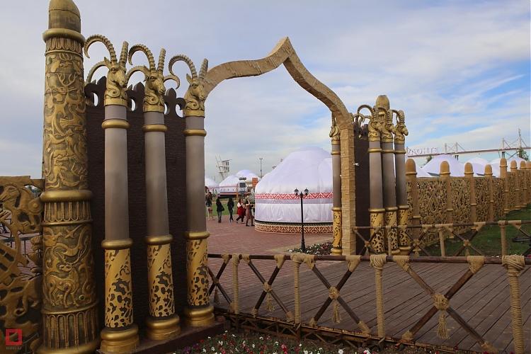 """фото Национально-культурный комплекс - """"Этноауыл"""""""