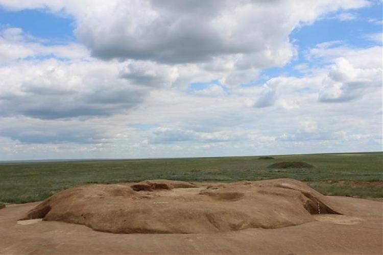 фото В Актобе были найдены останки воинов сарматского периода с полным вооружением