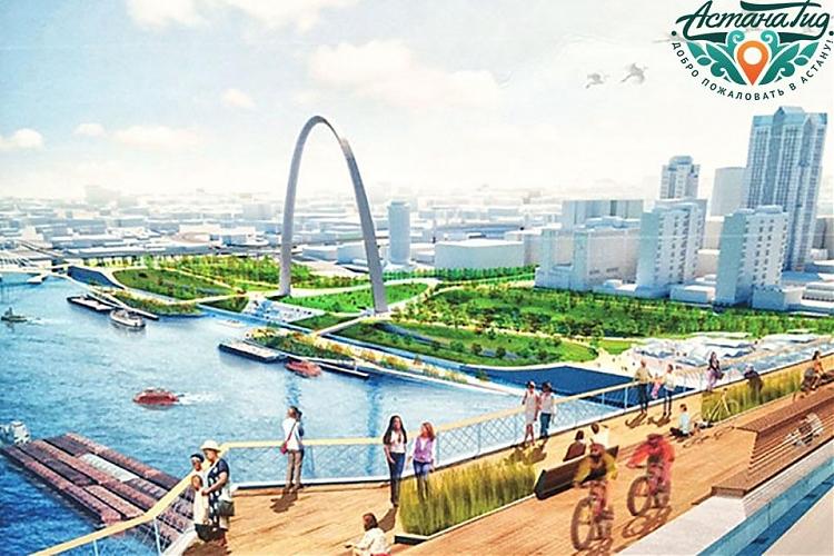 фото В Астане появится коммерческий мост