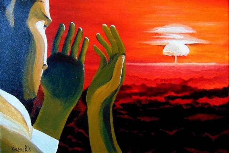 фото Выставка казахстанского художника Карипбека Куюкова