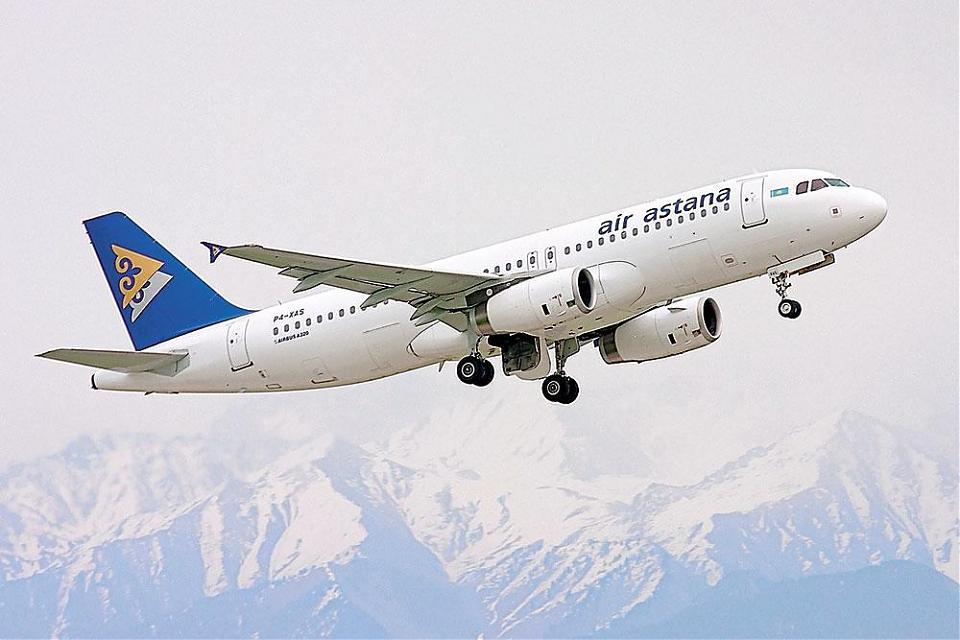 фото «Эйр Астана» возобновляет рейсы из Астаны в Киев
