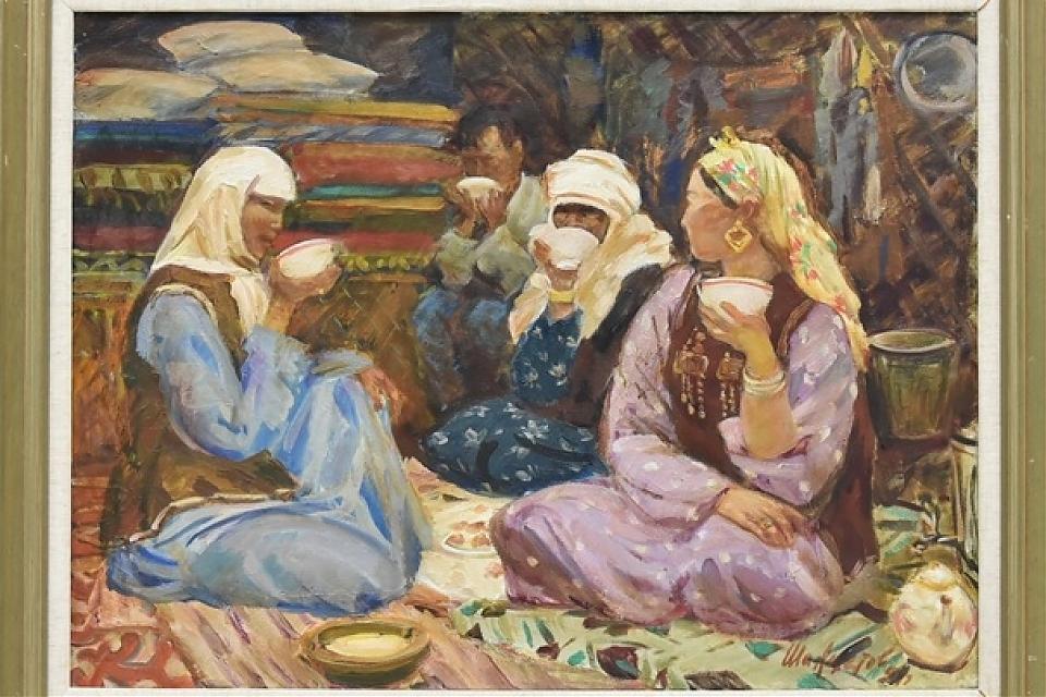 фото «Образ женщины в искусстве Казахстана»