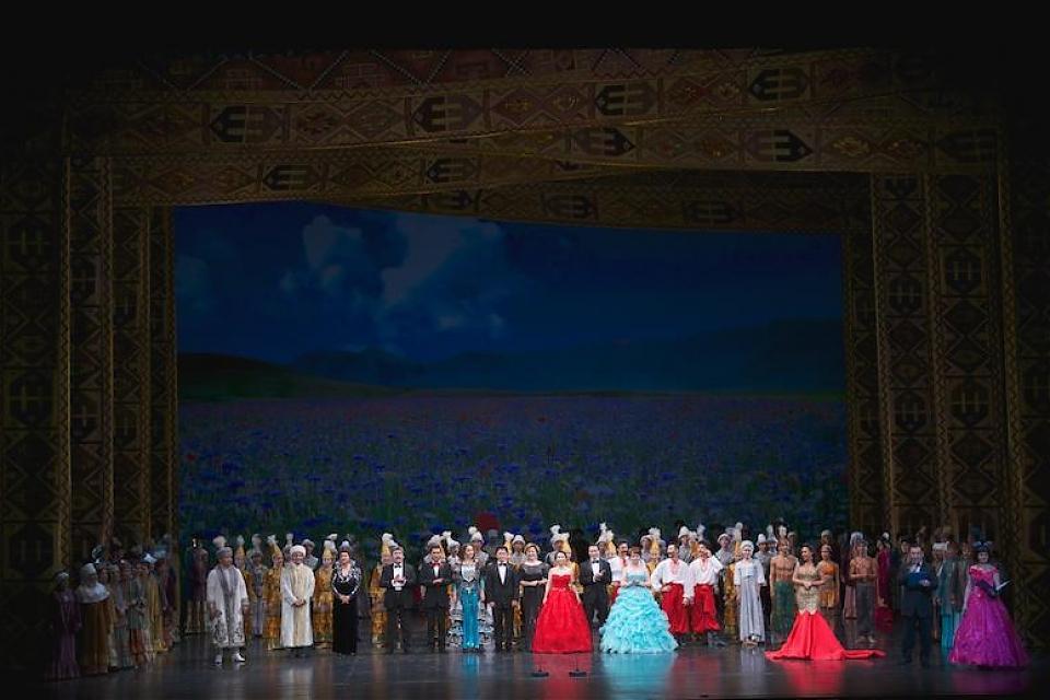 фото Праздничный концерт посвященный Дню единства народа Казахстана