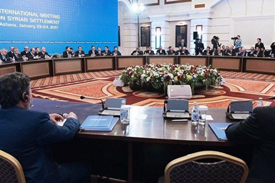 фото В Астане началась техническая встреча по Сирии