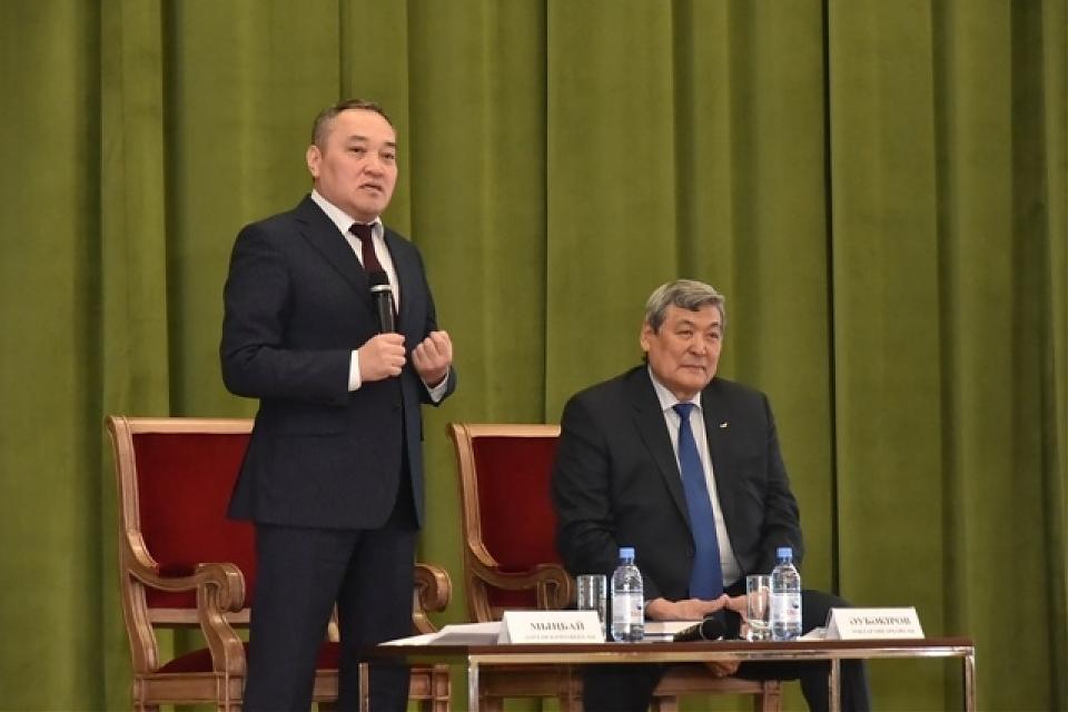 фото Встреча с первым казахским космонавтом